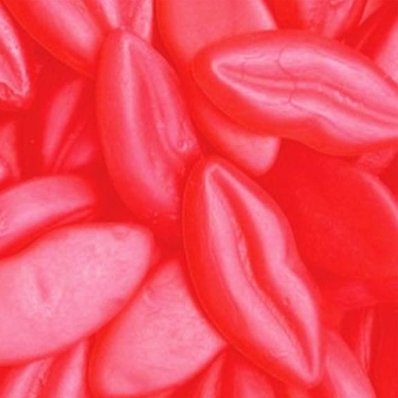 Red Allan Hot Lips Gummies